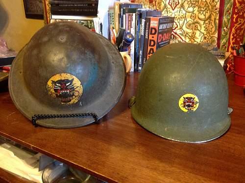 Tank destroyer helmet first to last