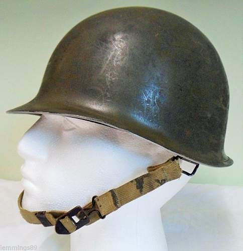 ww2 m1 helmet for review!!!!!