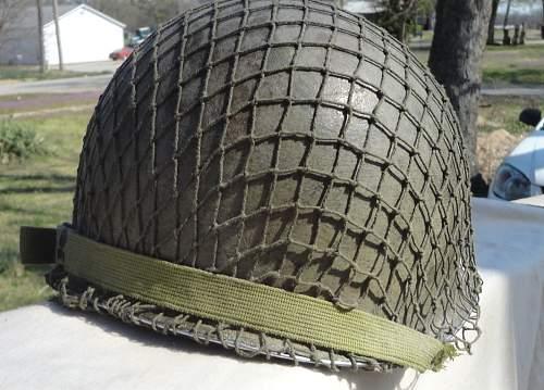 US M-1 Fixed Bale Helmet