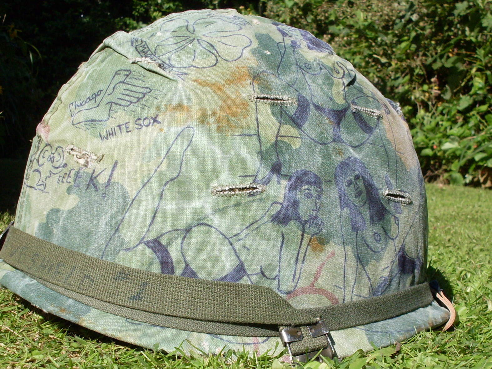 Vietnam ground troop infantry helmet no 1  - Page 3