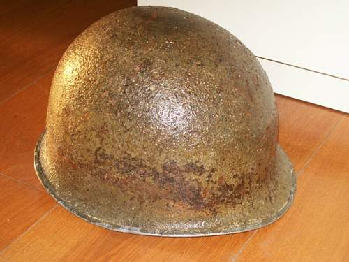 My M1 relic from italian front