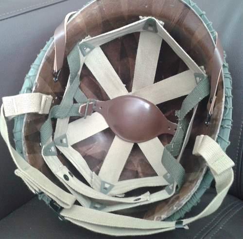 M1C jump helmet Restored.