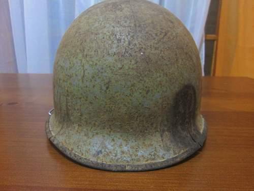 M1 Helmet us navy