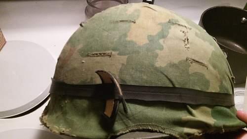 Vietnam (sort of) M1 helmet