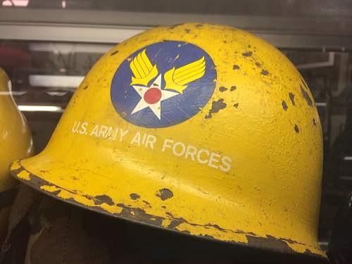 korean war air force helmet