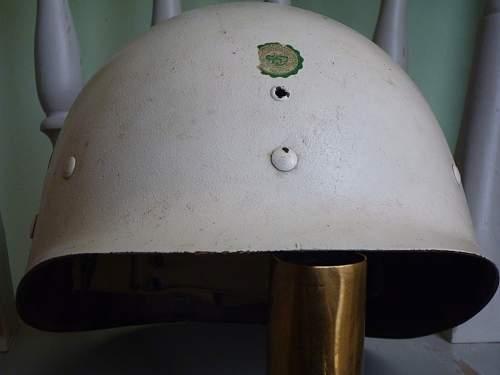 White Painted Mid-war Firestone Liner.