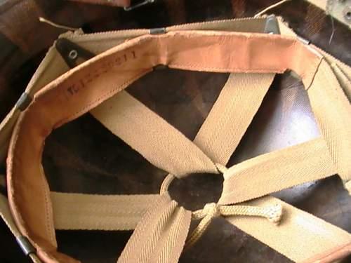 Project M-1 fixed bail helmet