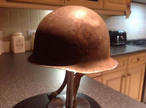 M1 helmet help please