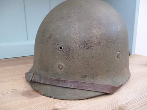 Westinghouse transitional fixed bale helmet.