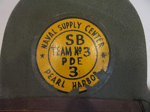 US M1 - Rear Seam - Naval Supply Center - Pearl Harbor