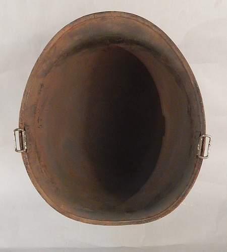 Another salty m1 helmet