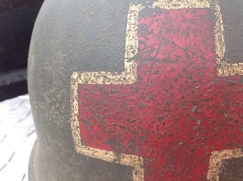 Conformation on m1 helmet