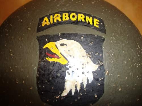 "M1 front seam  ""Airborne style"""