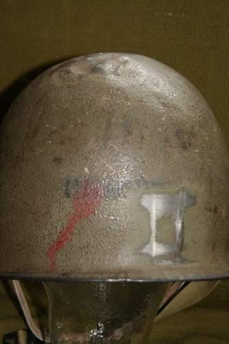 M1 helmet shell paintings
