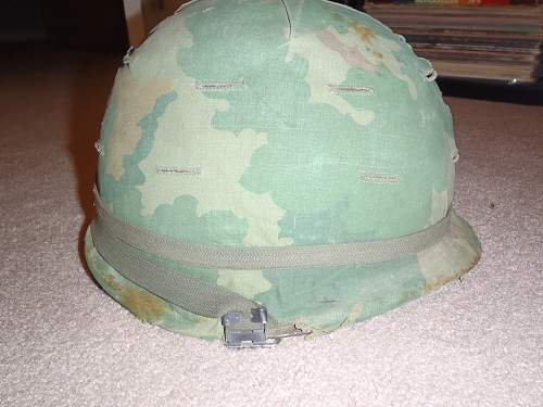 Vietnam era medics helmet?