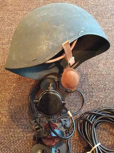 USN Talkers Helmet WW2