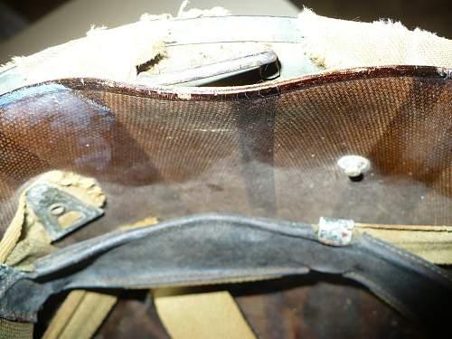 WW2 salty US Marines M1 helmet?