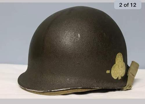101st helmet with insignias!