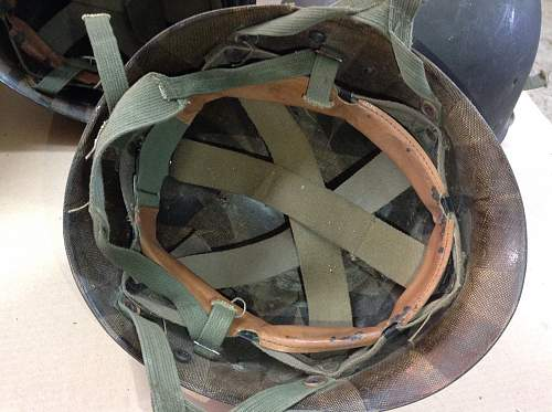 Korean War M1-C liner?