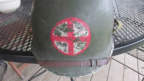 Weird M1 Medic Helmet
