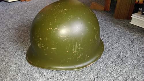 WW II American front seam fixed bail M1