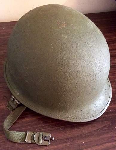 M1 Korean War helmet