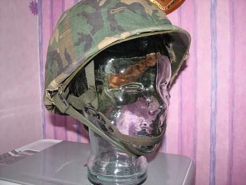 American M1C Paratrooper helmet