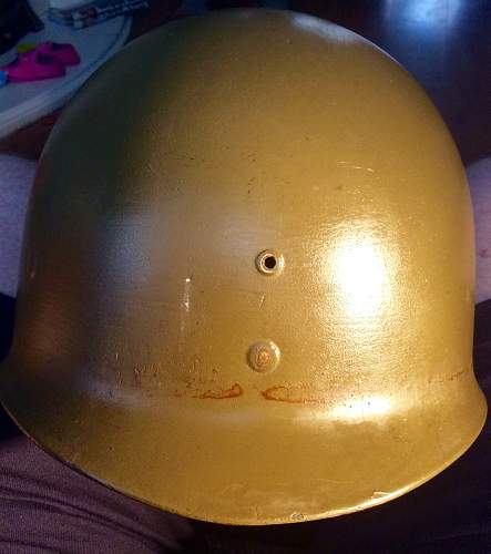 Mixed up M1 Helmet