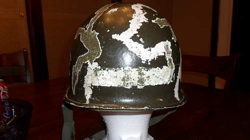 I have a question about my m1 helmet