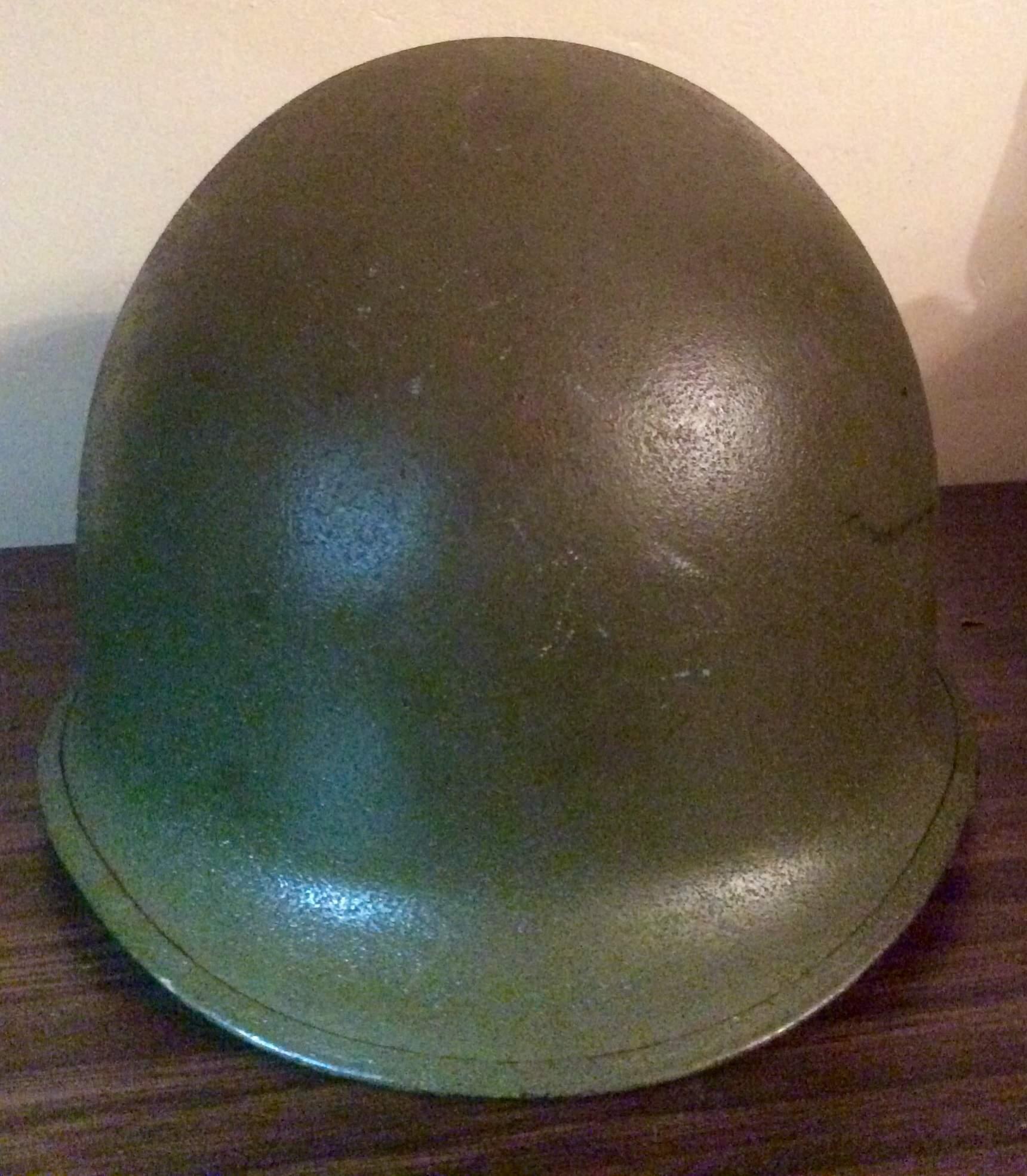 Late WW2- Korean War helmet, liner repurposed for VFW | eBay