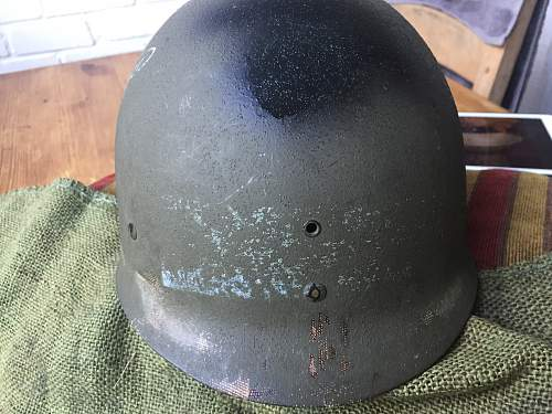 My first M1 helmet