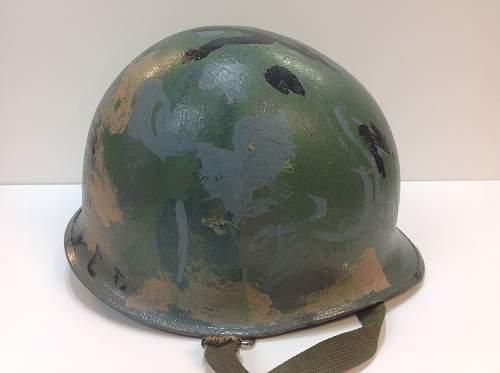 Sb ww2 reissue navy camo kids helmet