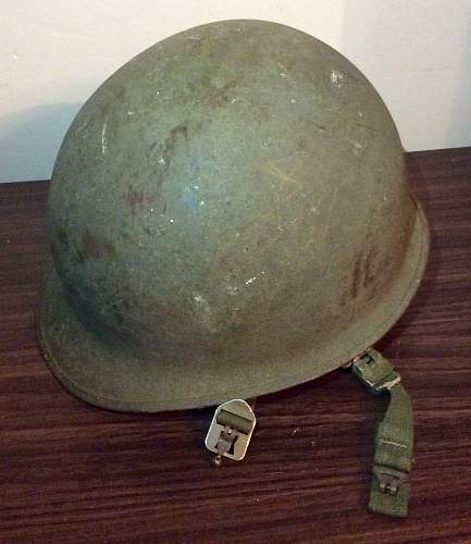 USMC M1 helmet pre Vietnam War