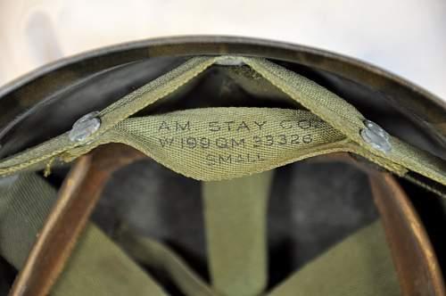 M-1 Helmet @ Yard Sale
