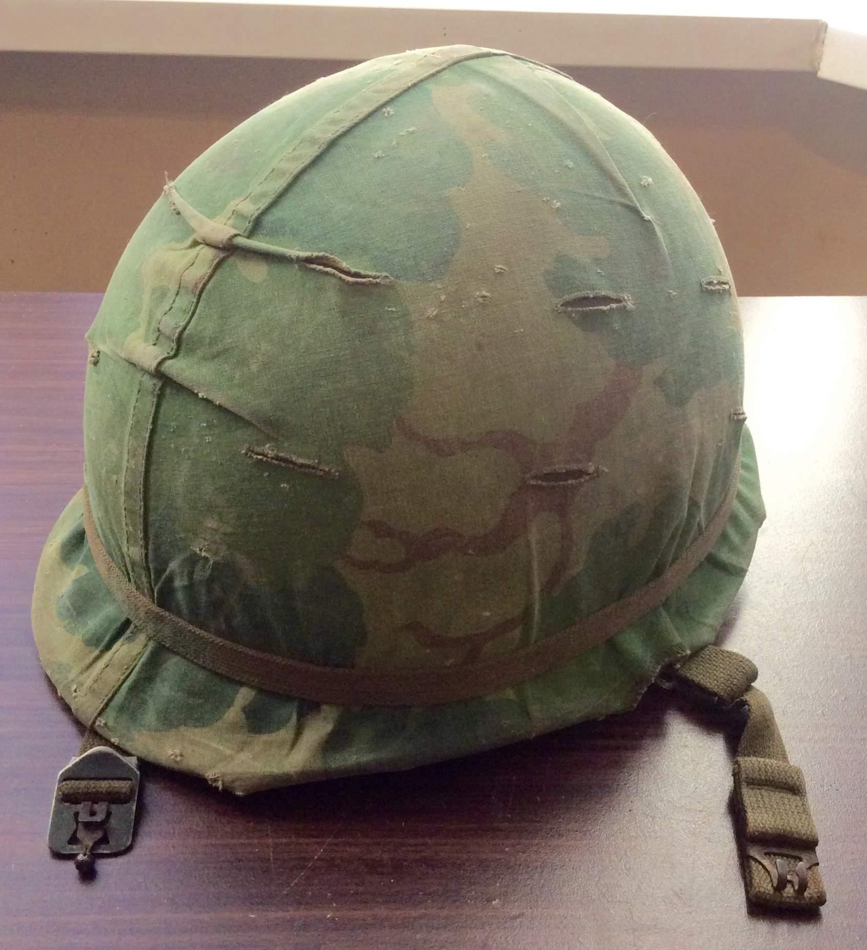 m1c vietnam era helmet