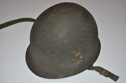 US M1 helmet