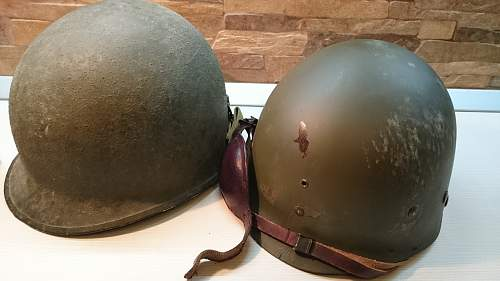 M1 with Firestone paratrooper liner