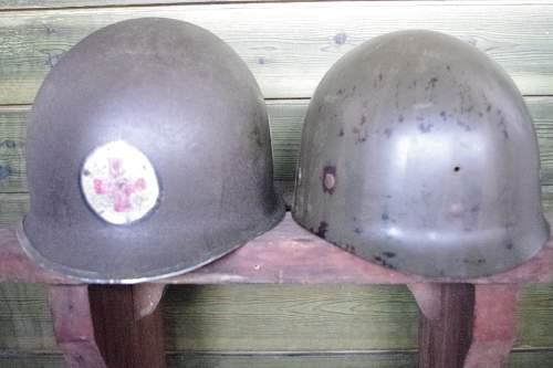 My helmet M1 medic