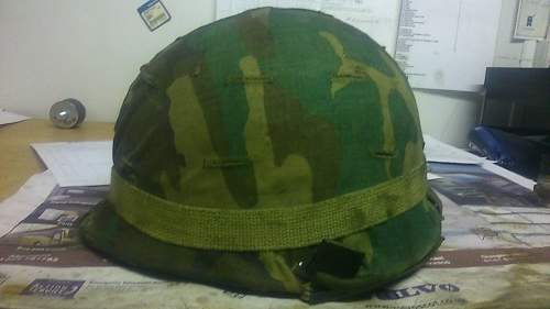 Helmet that was going to be thrown in the bin