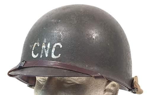M1 Helmet Marking ID help.