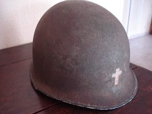 US chaplain helmet