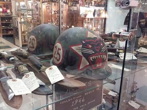 ARVN Ranger helmet at the antique mall , Only alt=,500