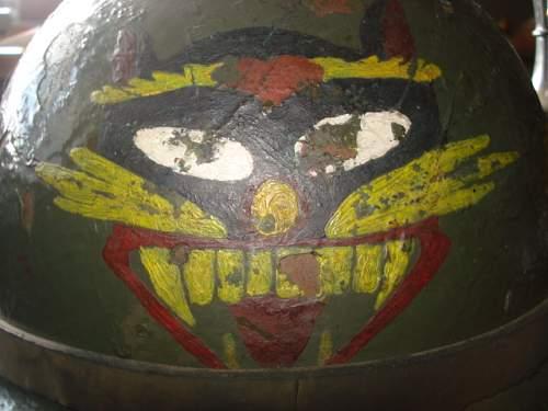 Strange M1, Tiger head painting, Vietnam?