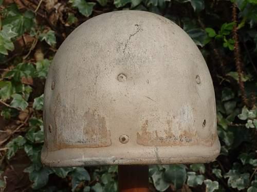 WW2 M1 HELMET with HAWLEY LINER