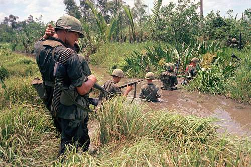 the M1 helmet in use during the Vietnam War photo thread