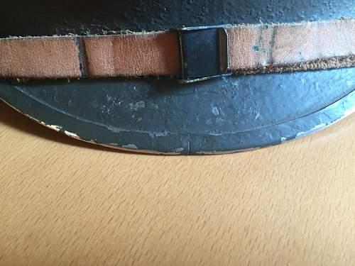 Front seam fixed bale ww2 M1