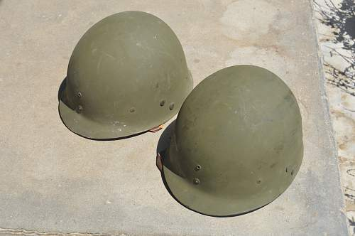 Are these WW 2 Airborne helmets?