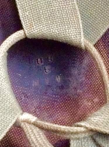M1 Paratrooper helmet with Marmac 1962 liner