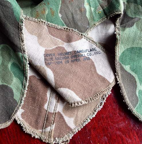 USMC M1 helmet cover