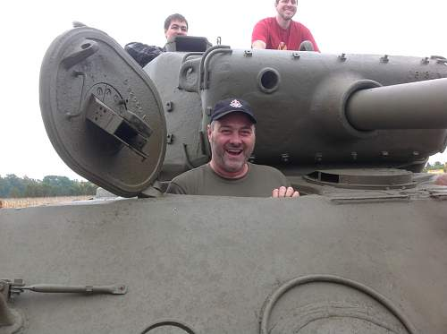 Local Sherman tank for you